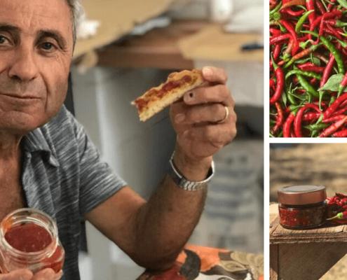 Chutney e composta al peperoncino