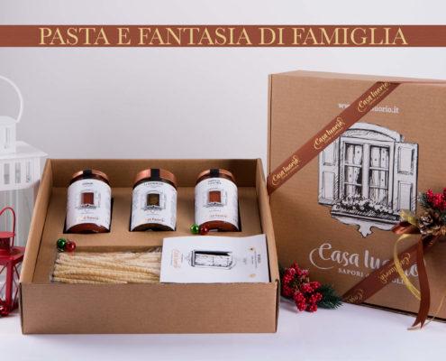 Gift Box pasta e fantasia di famiglia