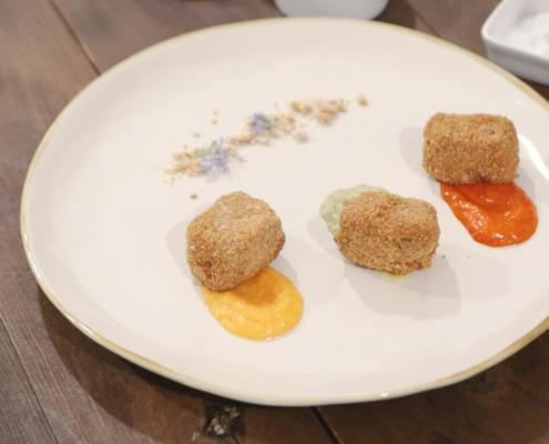 Filetto in crosta di tarallo con OrtoMayo