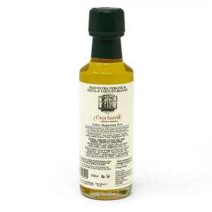 Olio extra vergine di oliva al tartufo
